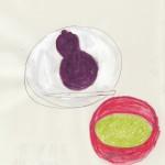 ひょうたん型の和菓子@