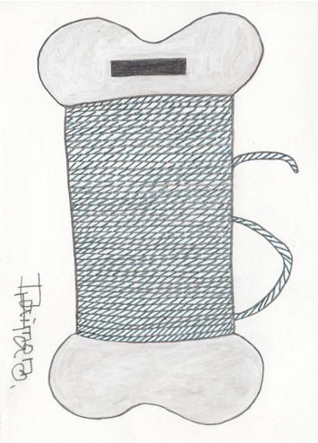 sネイビーの糸72
