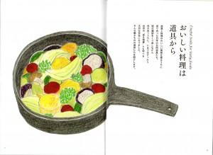 『台所にこの道具』扉1
